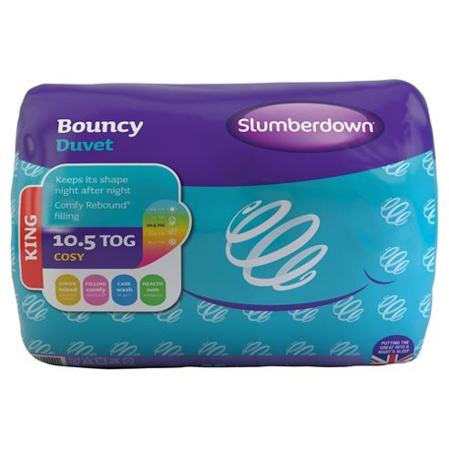 Slumberdown King Duvet 10.5 Tog - Bouncy