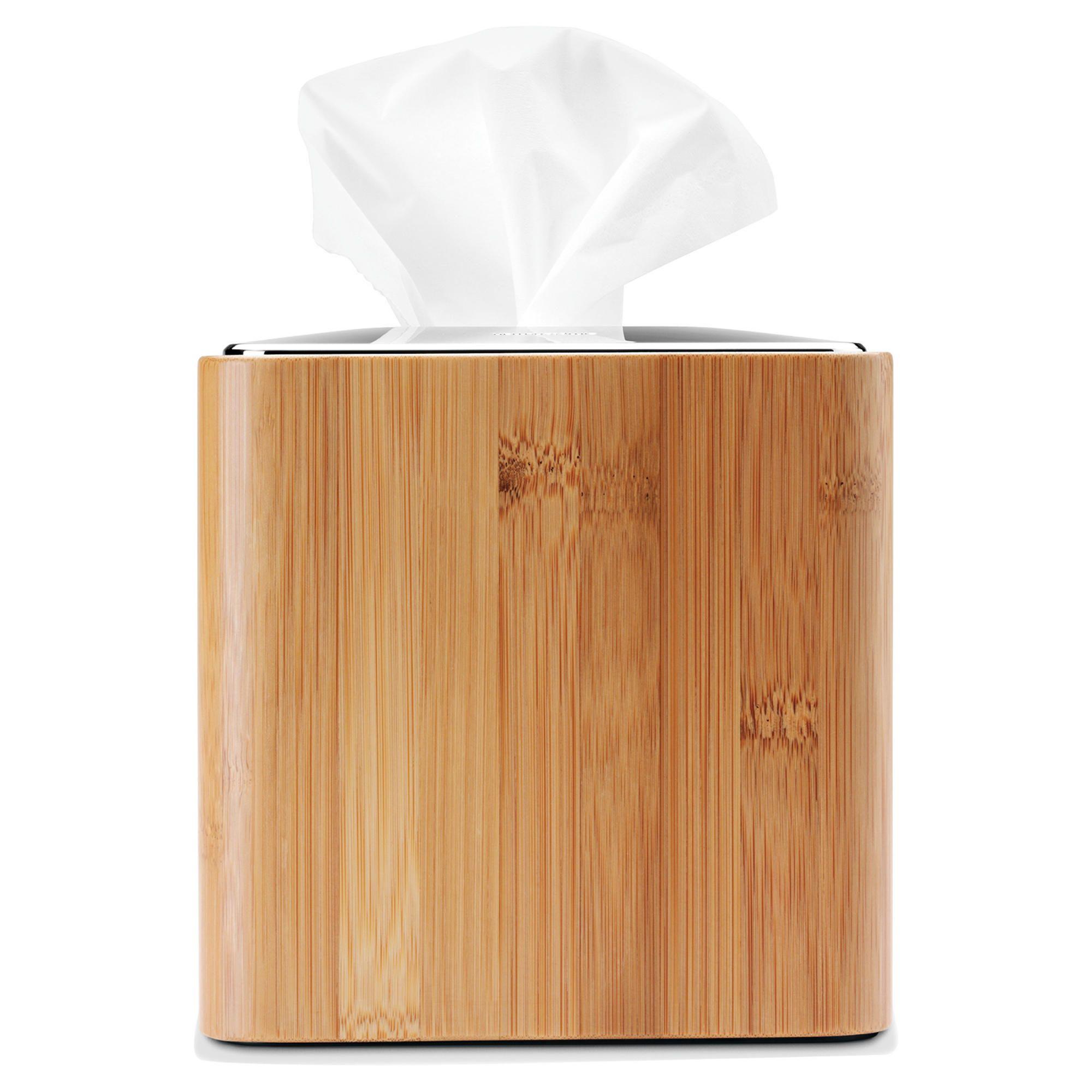 Simplehuman Bamboo Square Tissue Box