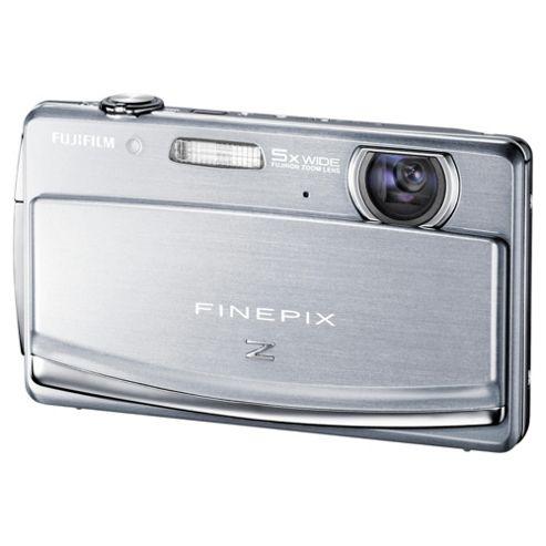 Fujifilm FinePix Z90 Digital Camera, Silver, 14MP, 5x Optical Zoom, 3.0 inch LCD Screen