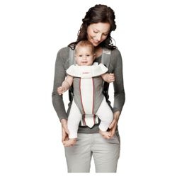 BABYBJORN Baby Carrier Original, Grey/White, Mesh