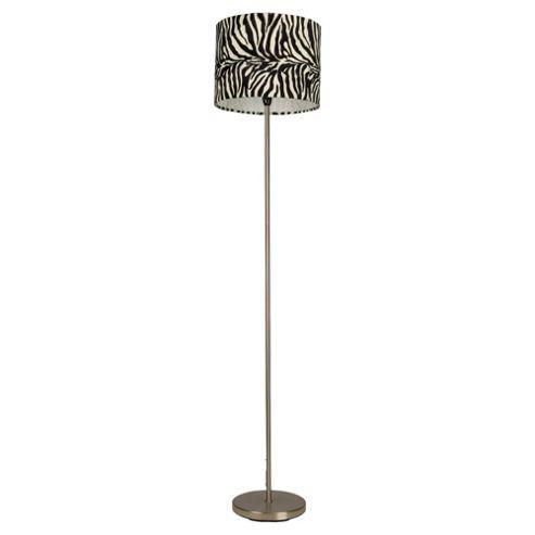 Tesco Lighting Zebra Floor Lamp