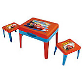 Disney Cars Sand & Water Table & 2 Stools