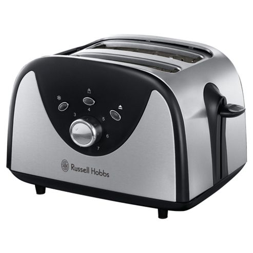 Russell Hobbs 79-043 Two Slice Compact Brushed Toaster.
