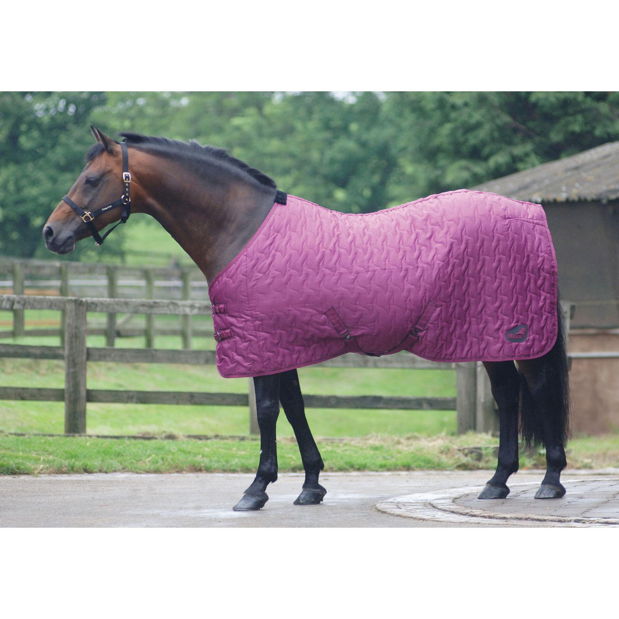 Masta Quiltmasta Light Horse Rug, Cherry, 6ft