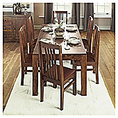Tamarai 6 Seat Dining Table, Sheesham