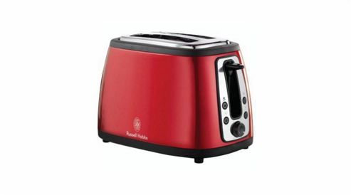 Russell Hobbs 18260 Heritage 2 Slice Toaster - Red