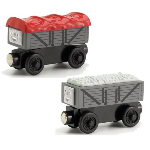 Thomas & Friends Wooden Electronic Giggling Trucks