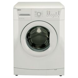 Beko WMB71021W Washing Machine, 7kg Wash Load, 1000 RPM Spin, A+ Energy Rating. White