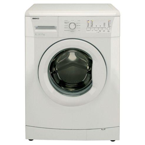 Beko WMB71021W Washing Machine, 7kg Wash Load, 1000 RPM Spin, A+ Energy Rating. White