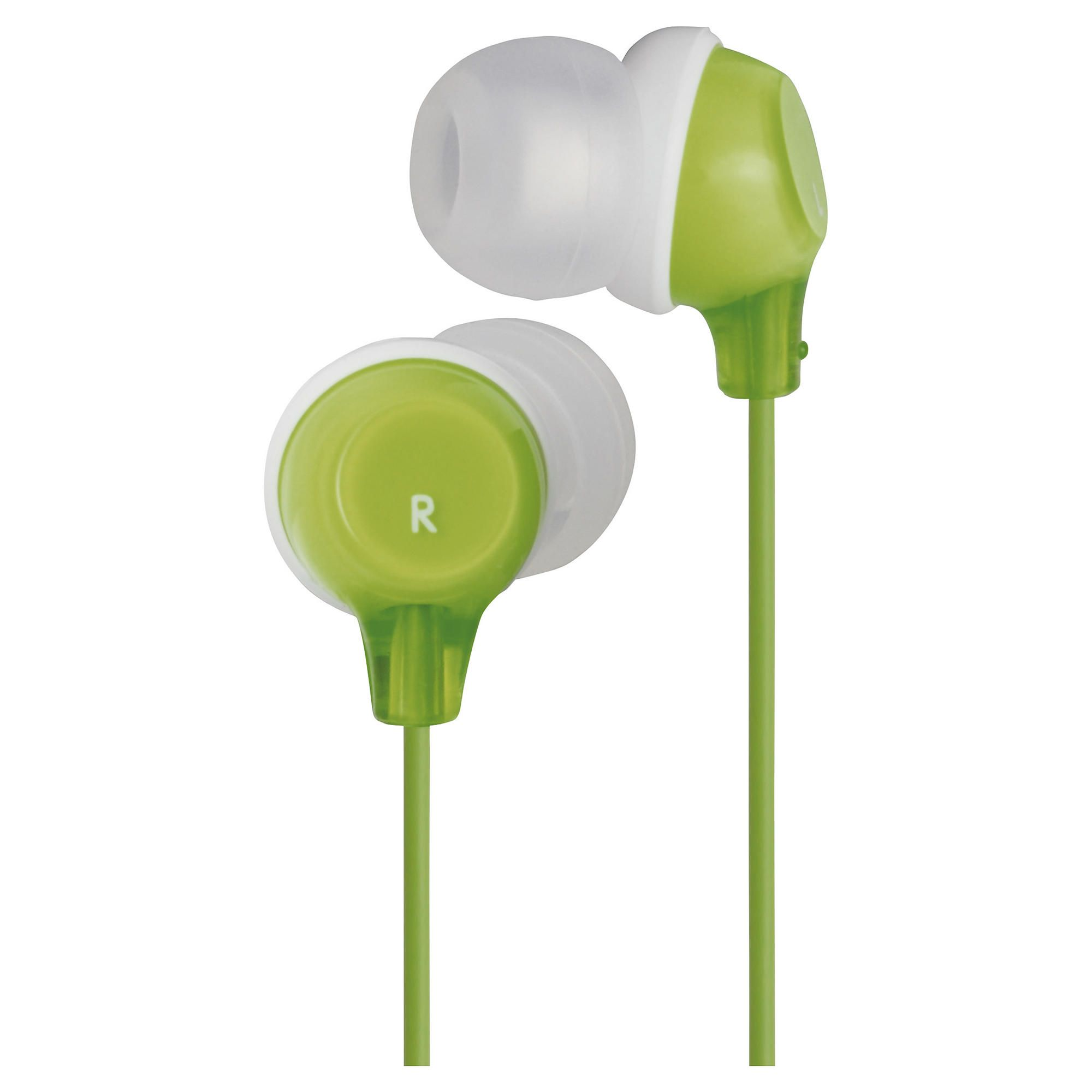 Offerta: JVC Clear Colour Stereo Headphones Green HAFX22G