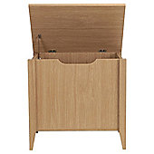 Eva Light Oak Storage Seat/Monks Bench