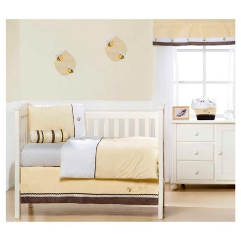 Kids Line Cute As Can Bee Toddler Duvet Set