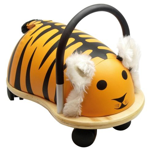 Wheelybug Tiger Ride-On Toy, Small