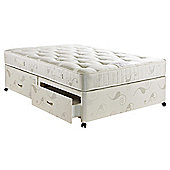 Hush Charleston Luxury Pocket King 4 Drawer Divan Bed