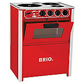 Brio Toddler Classics Stove Red, wooden toy