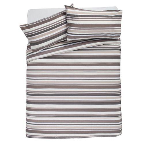 Stripe Print (Natural) Double