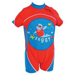 Zoggs Zoggy Swimfree Float Suit, Red, 1-2 years