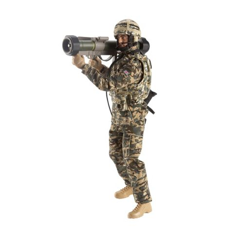 H.M Armed Forces FX Army Infantryman With Rocket Launcher