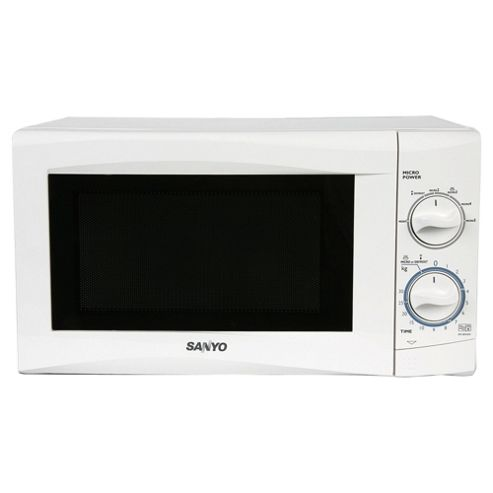 Sanyo 17L Manual Microwave White