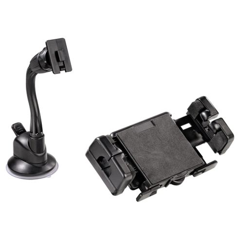 Hama 2 in 1 in-car Holder Kit for Mobile Phones, MP3 Players and Handhelds - Short