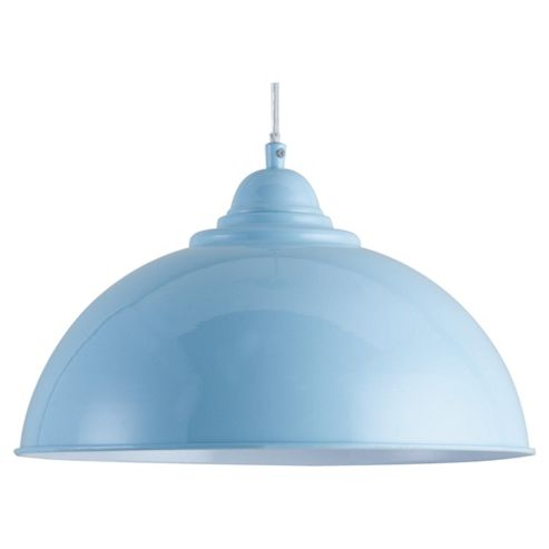 Tesco Lighting Milford Ceiling Fitting Pale, Blue