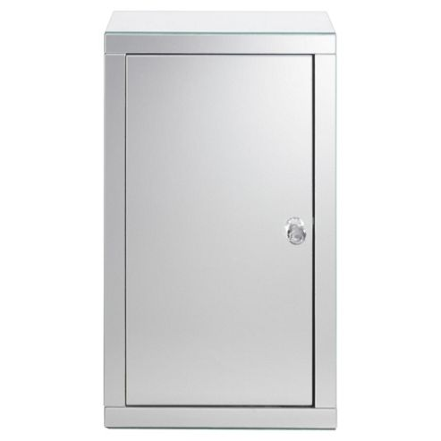 Tesco Mirrored Single Door Cabinet
