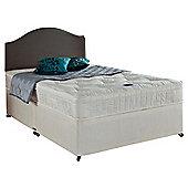 Airsprung Danbury Memory Cushion Top King Size Non Storage Divan Bed