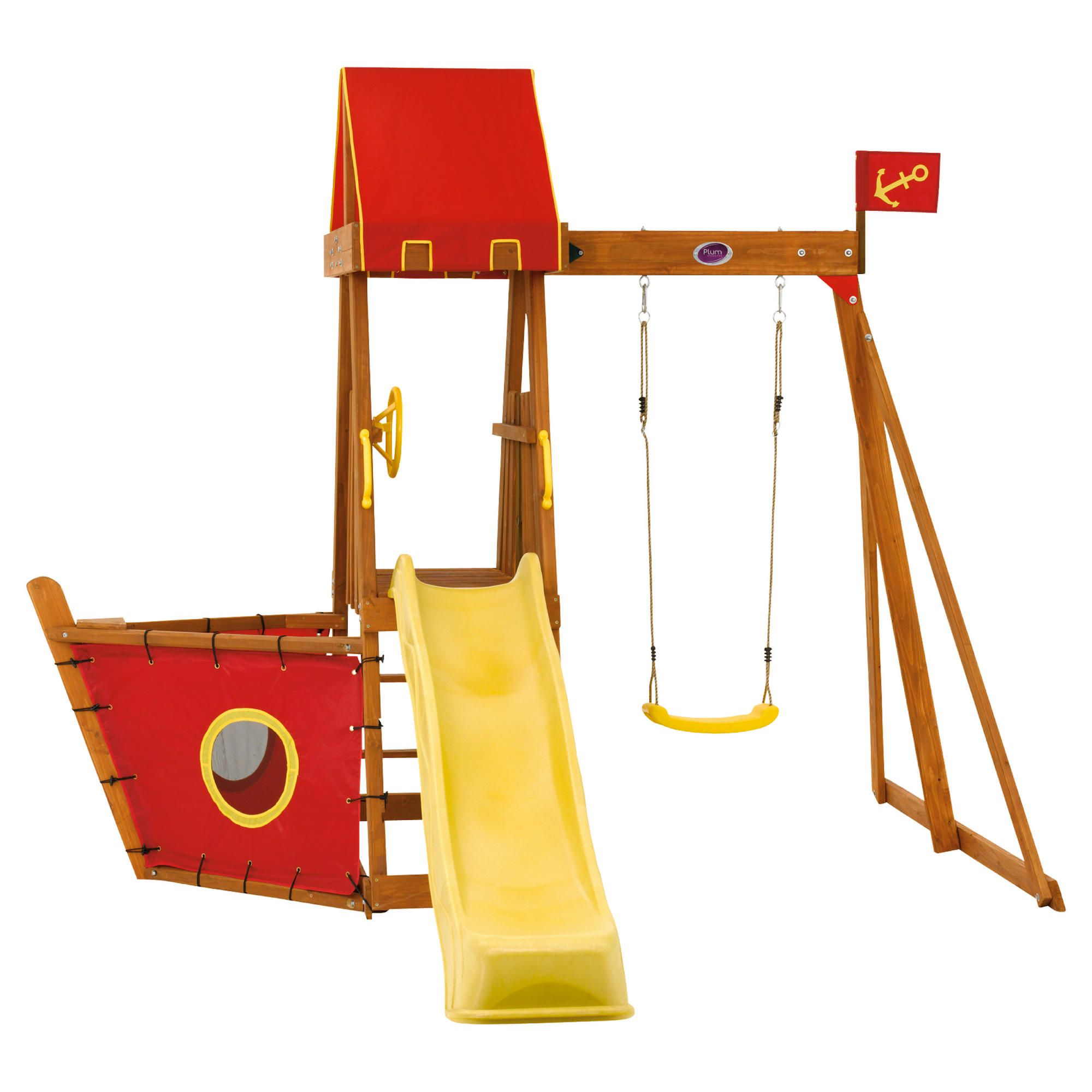 Plum Swashbuckler Wooden Play Centre at Tesco Direct