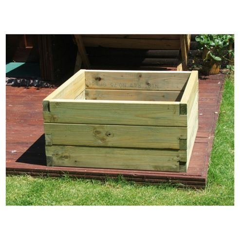 Chunky 90cm tier sleeper planter