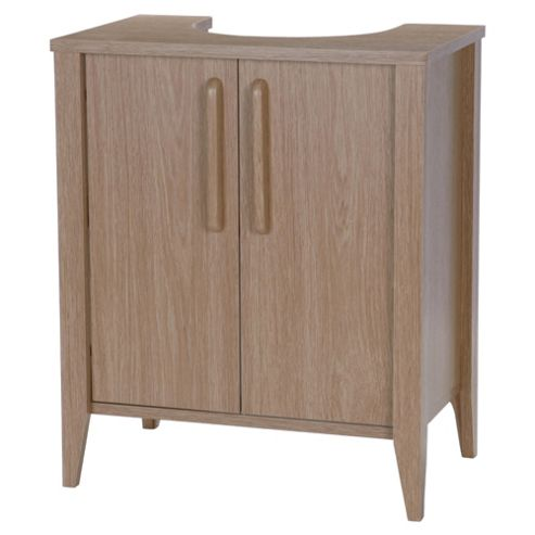 Eva Under Sink Unit, Light Oak