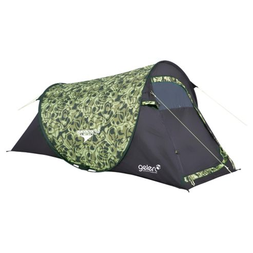 Gelert Quick Pitch SS 2-Man Camo Sphere Dome Tent