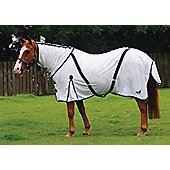 Masta Zing Fly Mesh Rug with Fixed Neck white 5ft9