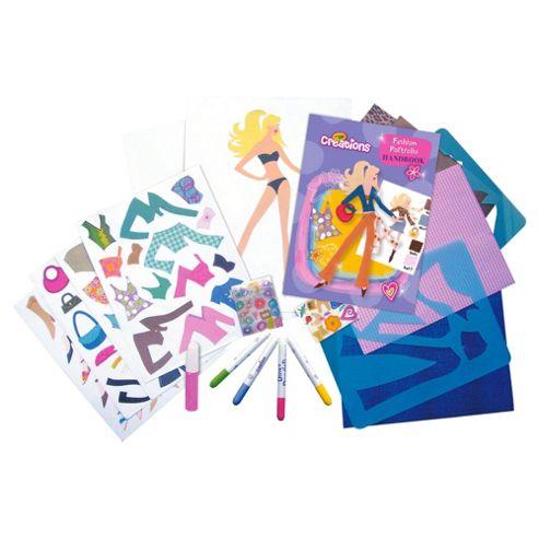 Buy Crayola Creations Fashion Portfolio From Our Art