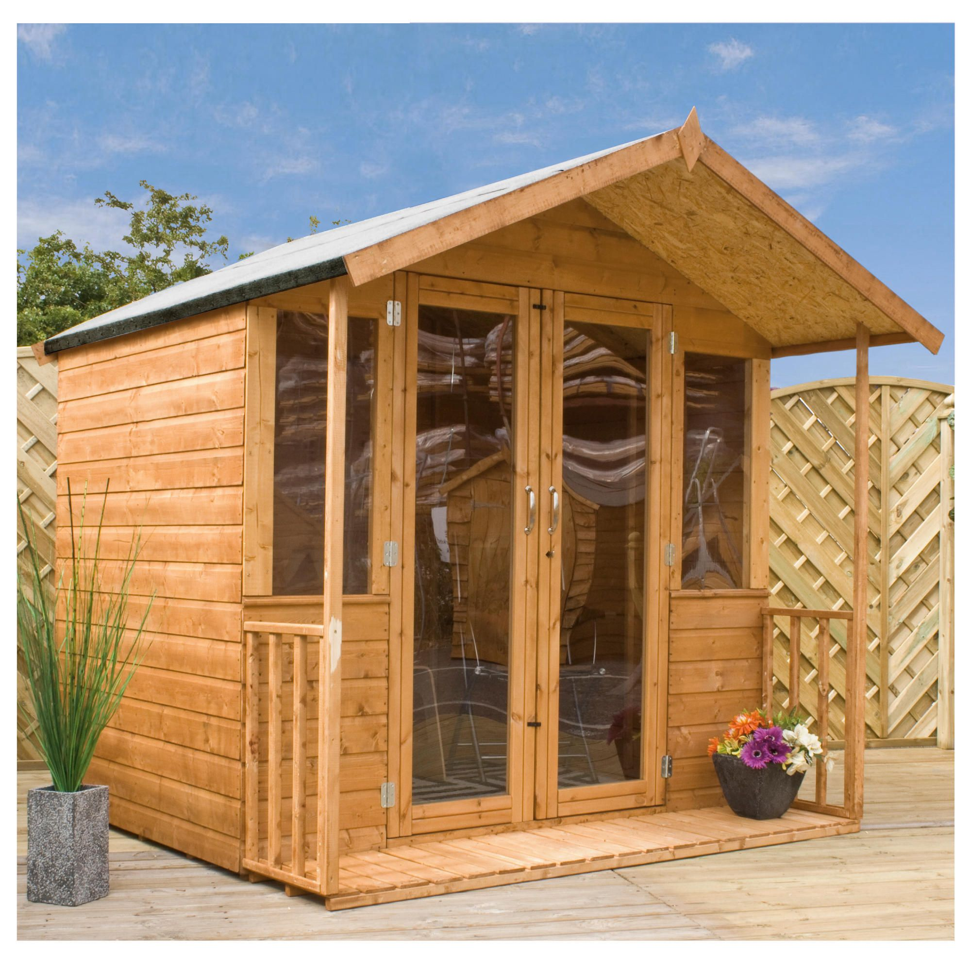 Mercia 8x7 Bournemouth Summerhouse at Tesco Direct
