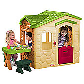 Little Tikes Picnic on the Patio Natural Playhouse