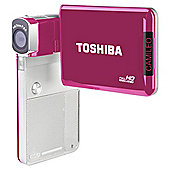 Toshiba Camileo S30 High Def Digital Camcorder Rasberry