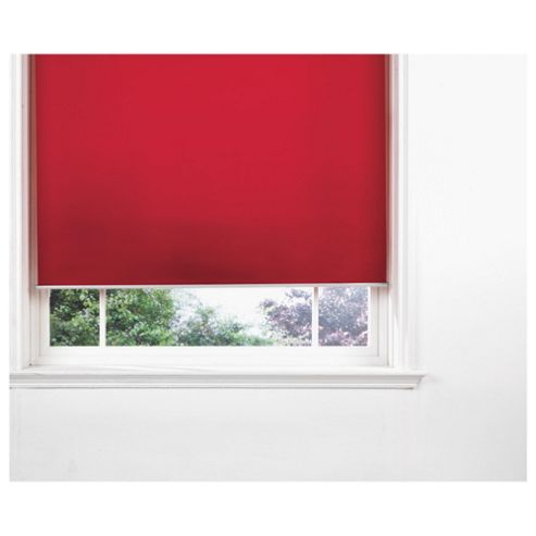Strand Metal Roller Blind Red 120Cm