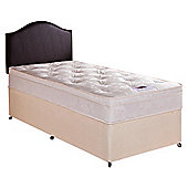 Airsprung Danbury Deep Ortho Cushion Top Single Non Storage Divan Bed
