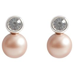 ICE BRIGHT Pearl Earrings