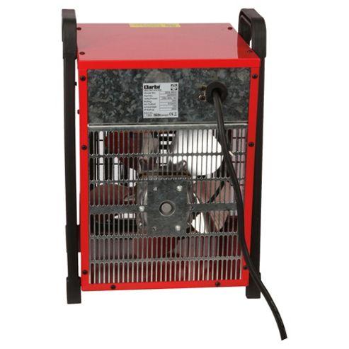 buy clarke devil 6003 industrial 3kw electric fan heater. Black Bedroom Furniture Sets. Home Design Ideas