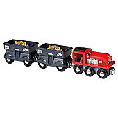 Brio Classic Freight Gold Train, wooden toy
