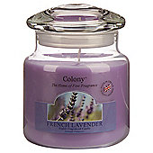 Colony French Lavender Medium Candle Jar