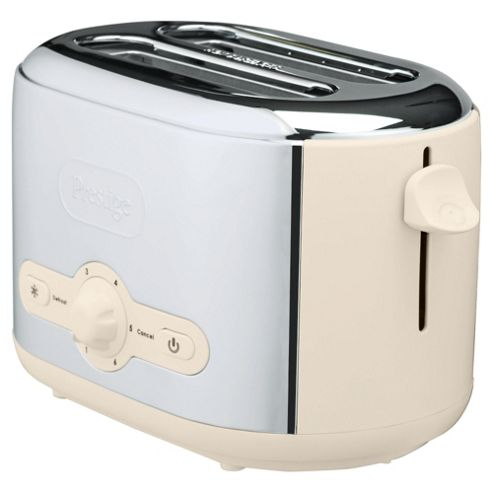 Meyer Prestige 54779 Debut 2 Slice Toaster - Almond and Chrome