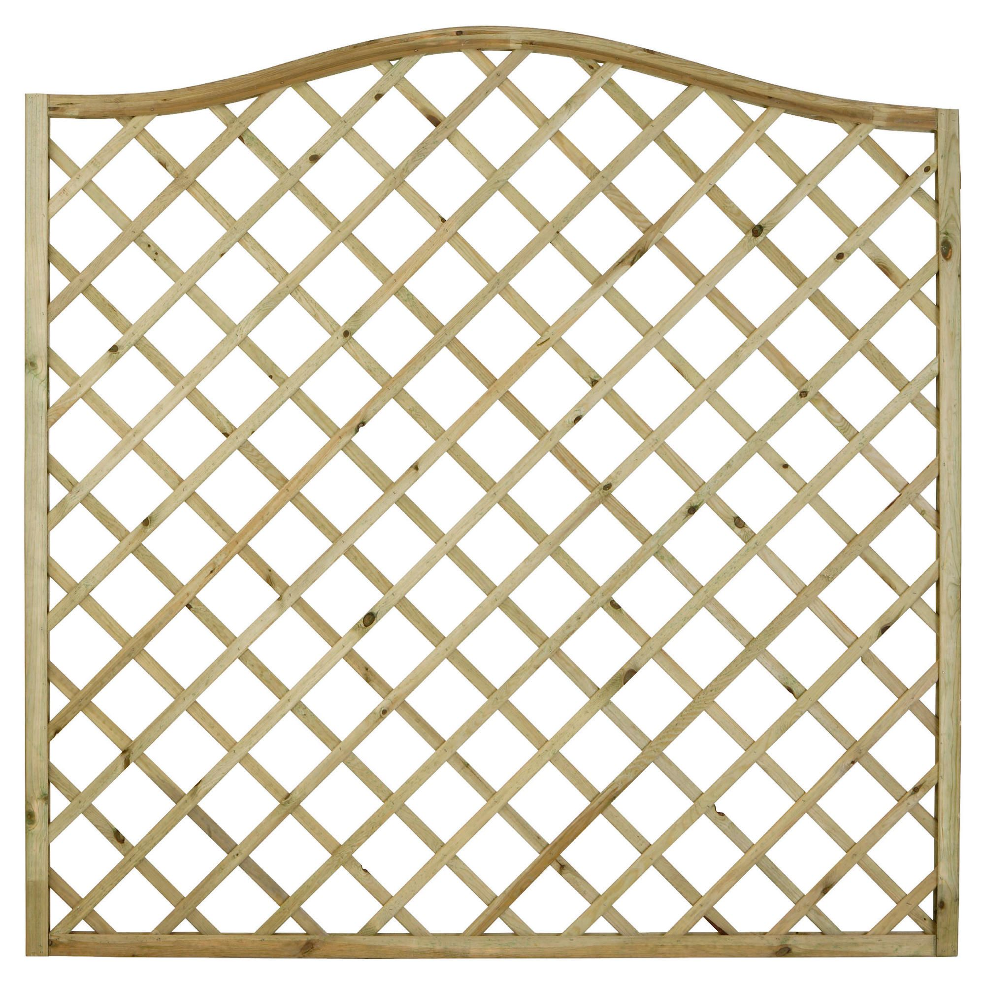 Timberdale 1.8mx1.8m Hanbury Screen Pack of 5 at Tesco Direct