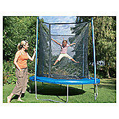 Tesco 8ft Circular Trampoline with Enclosure