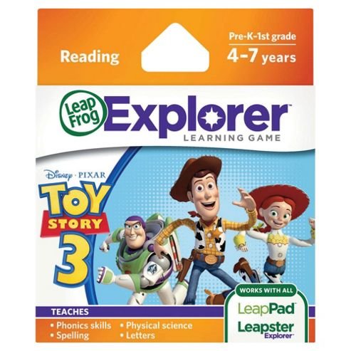 LeapFrog Explorer™ Learning Game: Disney Pixar Toy Story 3