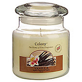 Colony Vanilla Medium Candle Jar