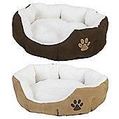 Faux Fur pet bed - Medium