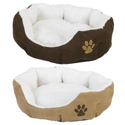 Faux Fur pet bed - Medium