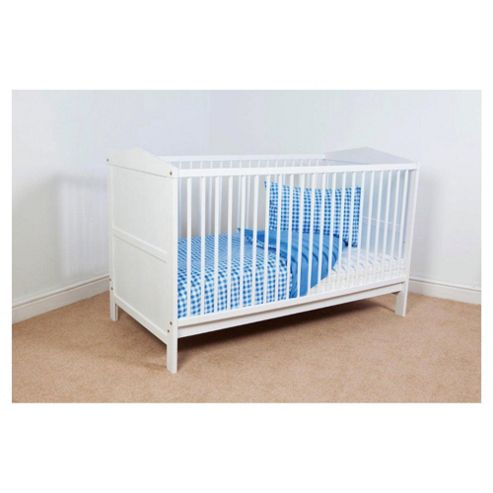Saplings Gemma Cot Bed,  White